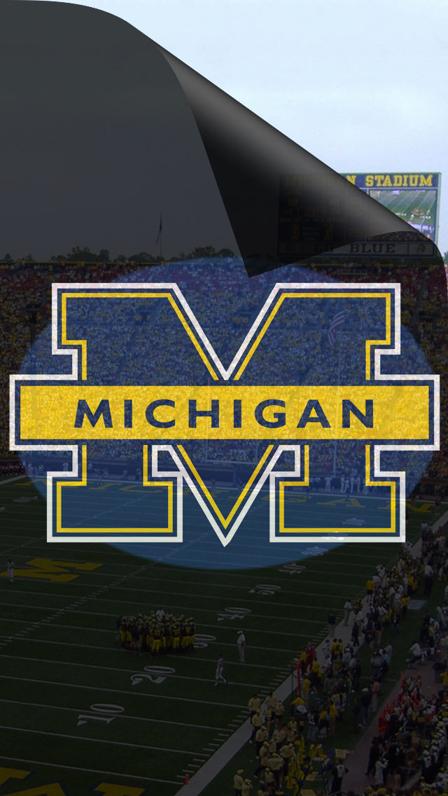 Michigan Wolverines 640x1136