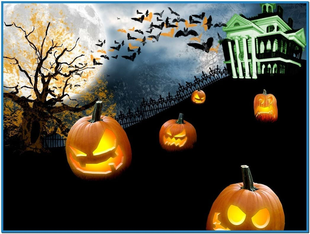 Halloween screensavers and wallpapers   Download 1047x791