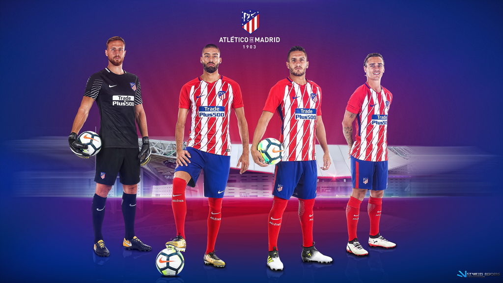 Atletico Madrid 2017 2018 Wallpaper by szwejzi 1024x576
