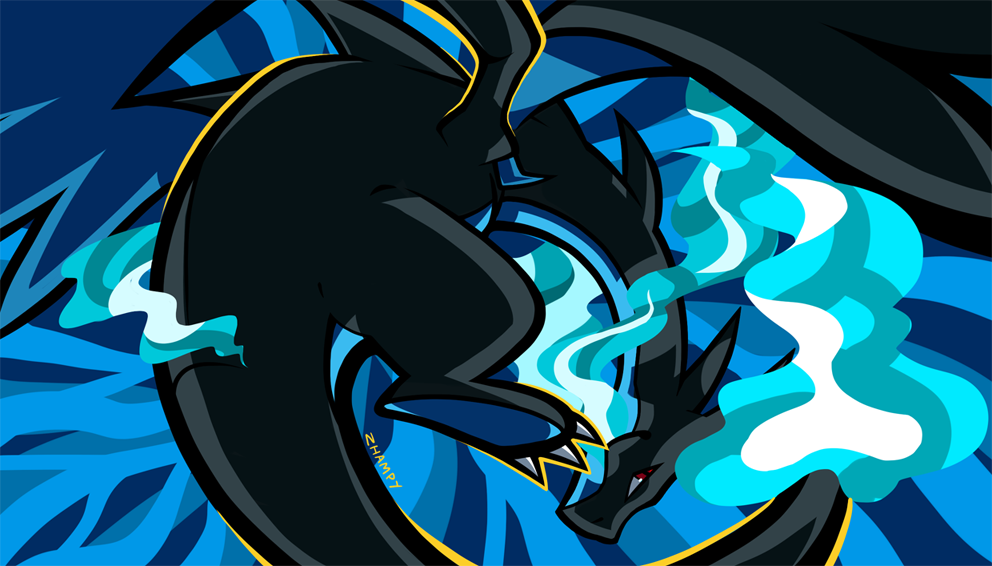 Pokemon Mega Charizard X And Y Wallpaper Fitrini S Wallpaper
