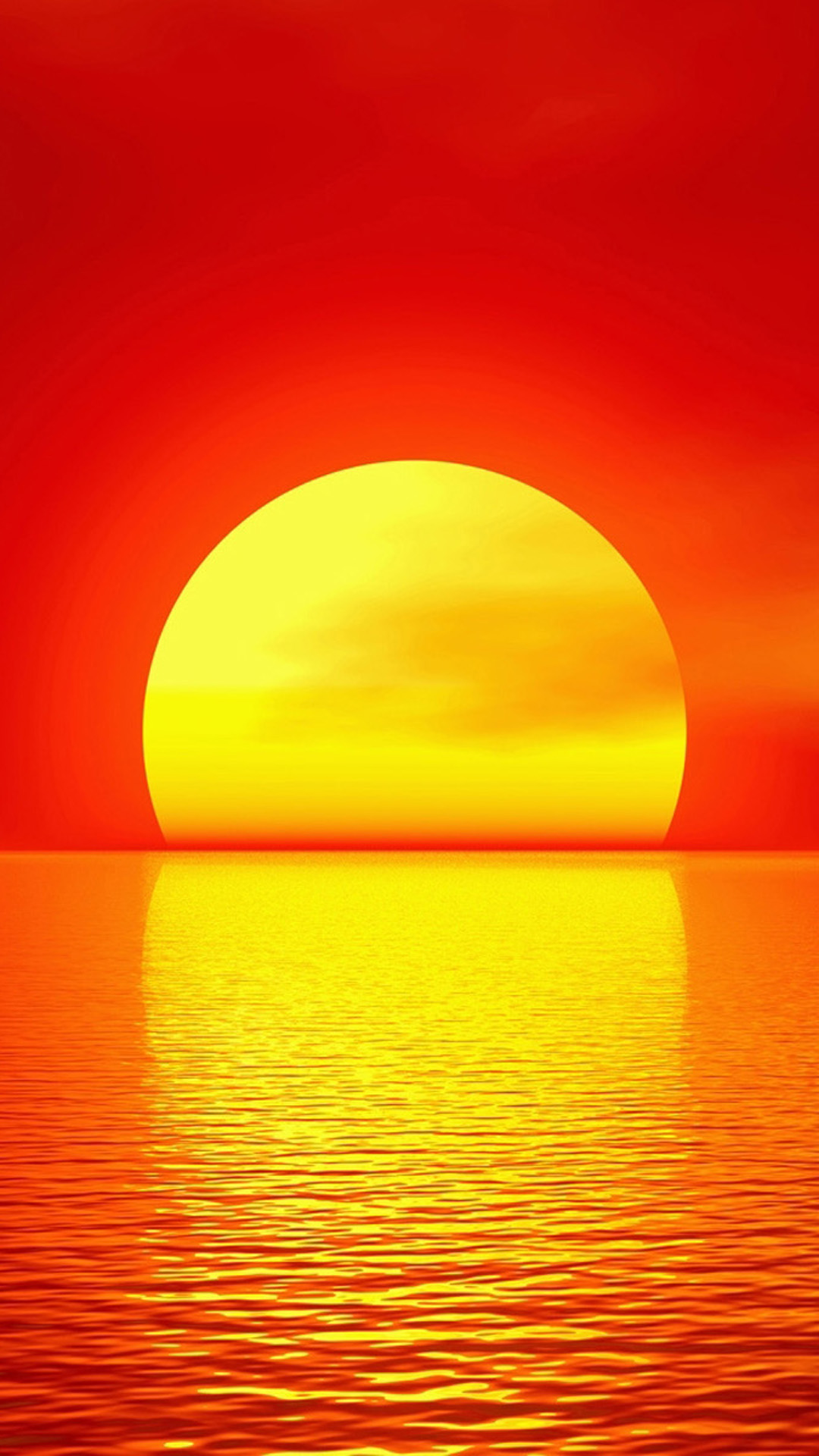 Free Download Sunset Melt Gold Wallpaper For Iphone 6 Plus Iphone