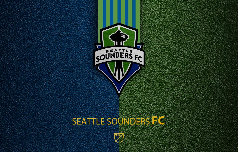 Wallpaper wallpaper sport logo football MLS Seattle Sounders 1332x850