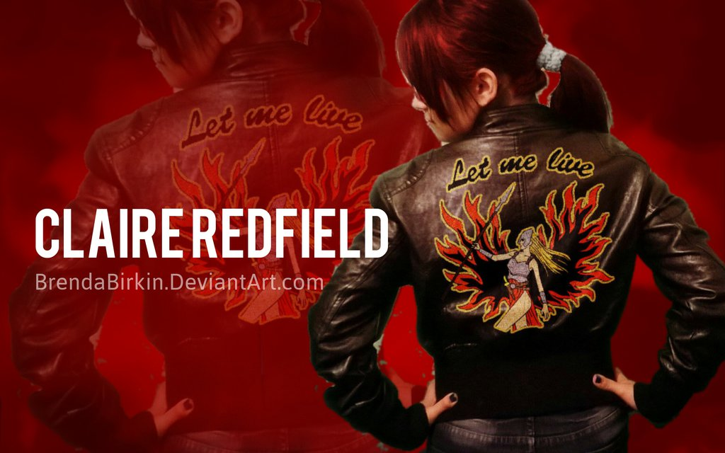 Claire Redfield Cosplay Wallpaper style by BrendaBirkin 1024x640