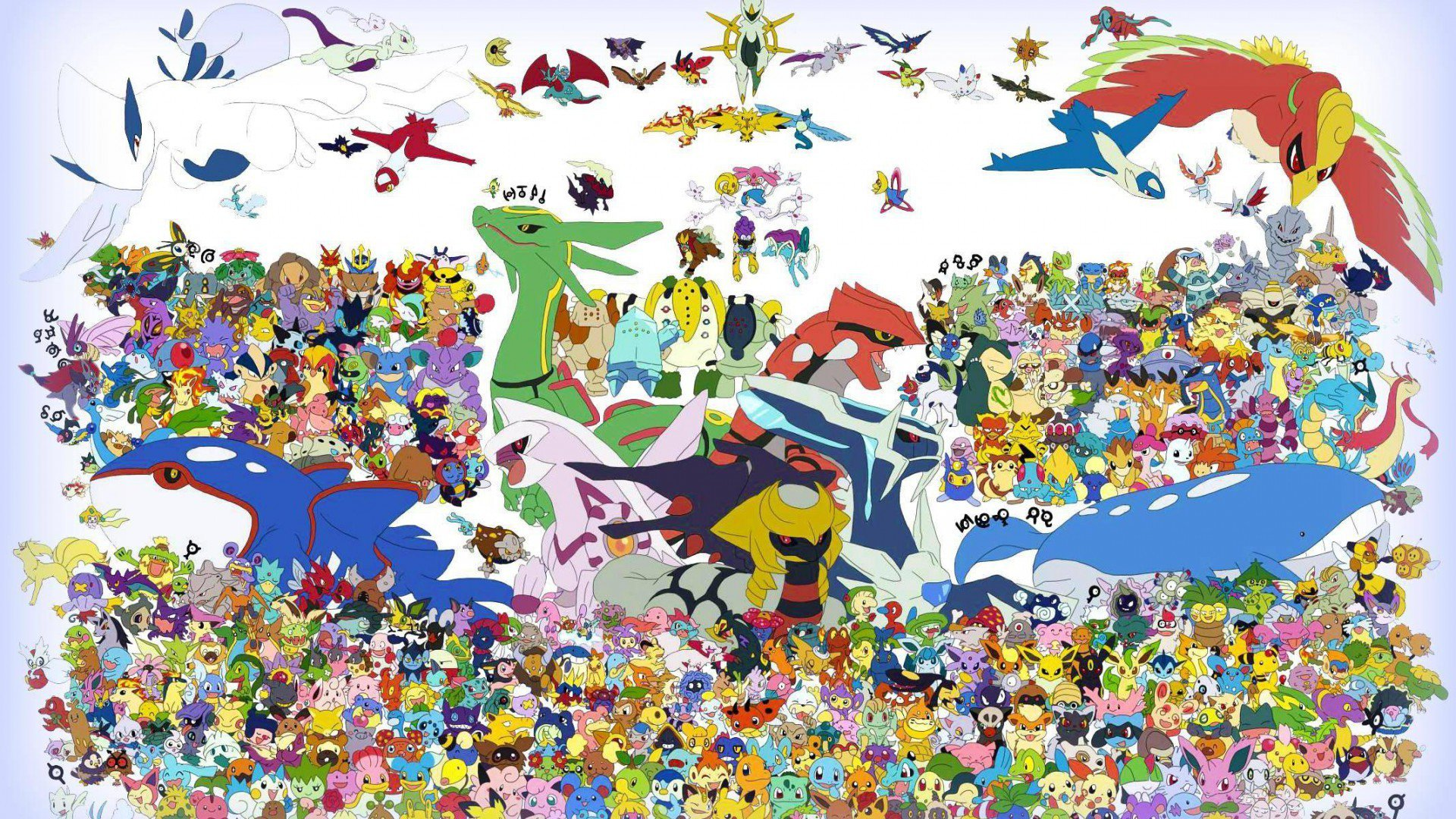 1080P Pokemon Wallpapers - WallpaperSafari Pokemon Wallpaper Hd 1920x1080