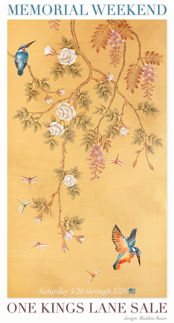 Chinoiserie Chic Paul Montgomery on One Kings Lane Today 600x1111