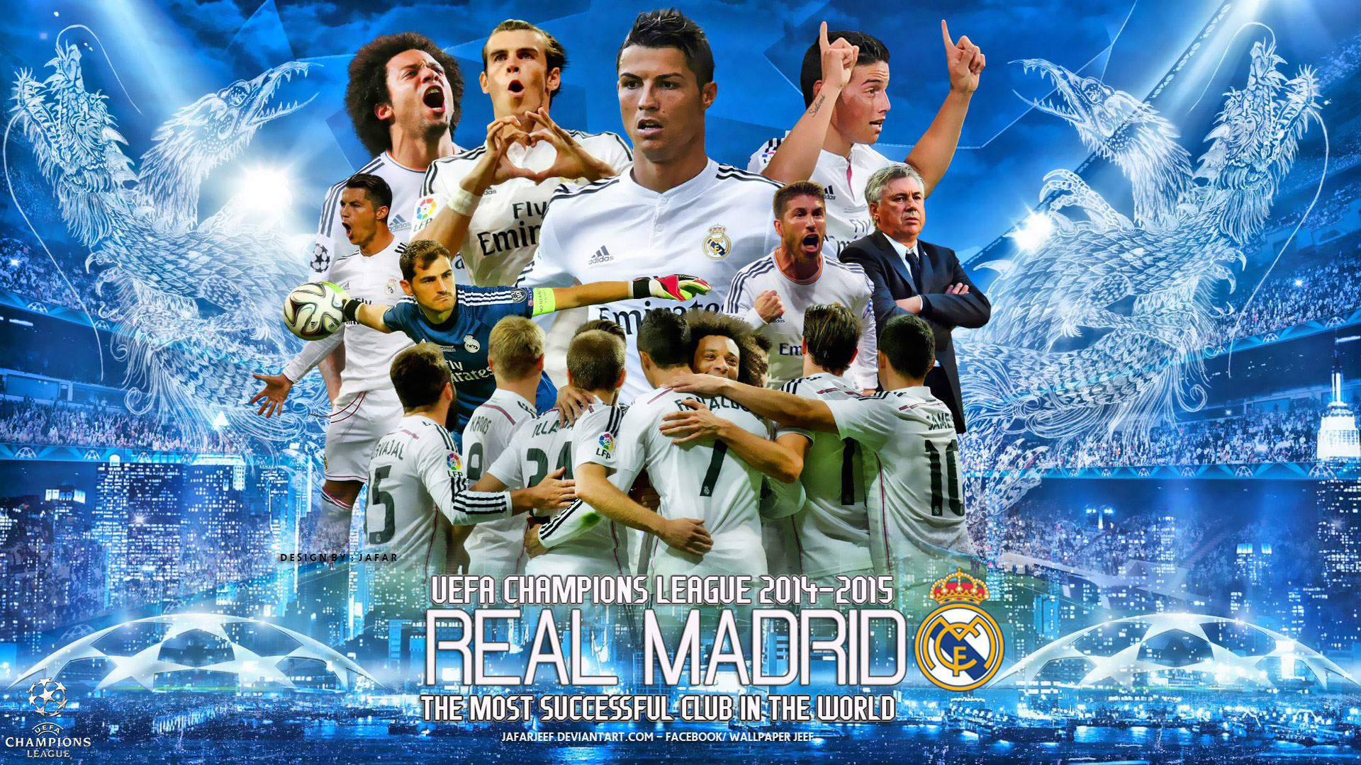 Wallpapers   Real Madrid 2015 Champions League wallpaper 1920x1080