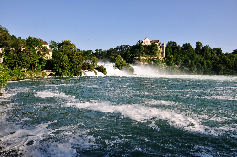 Rhine falls Switzerland HD Wallpaper Background Image 2900x1926