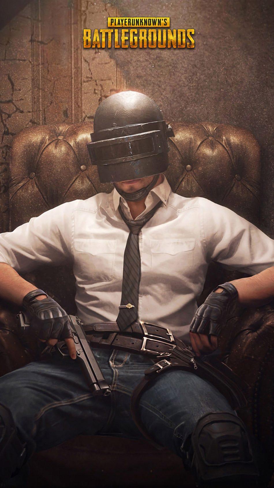 Download PUBG Helmet Guy Playerunknowns Battlegrounds Pure 950x1689