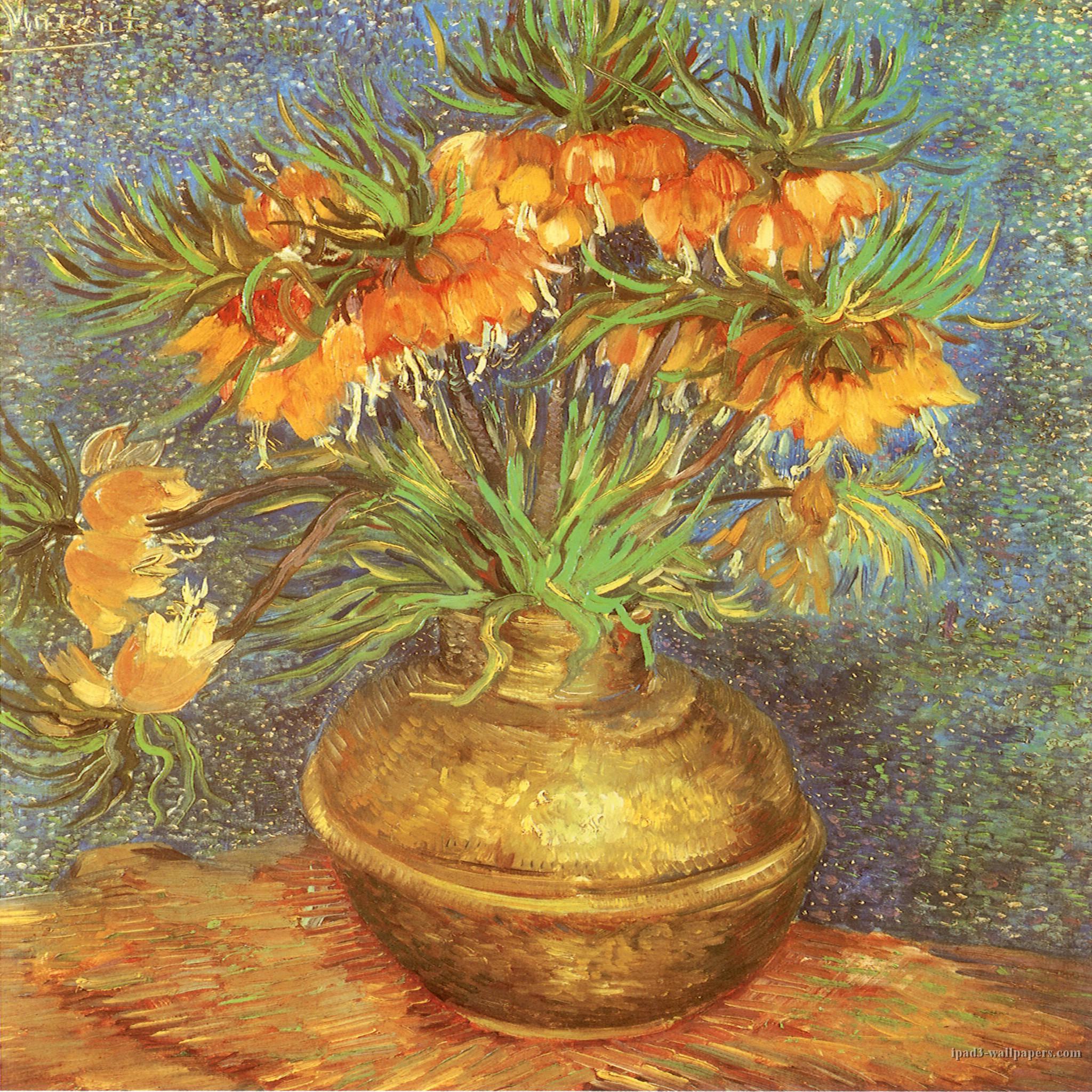 Vincent van Gogh iPad Wallpaper 153 New iPad 3 Background 2048x1536 2048x2048