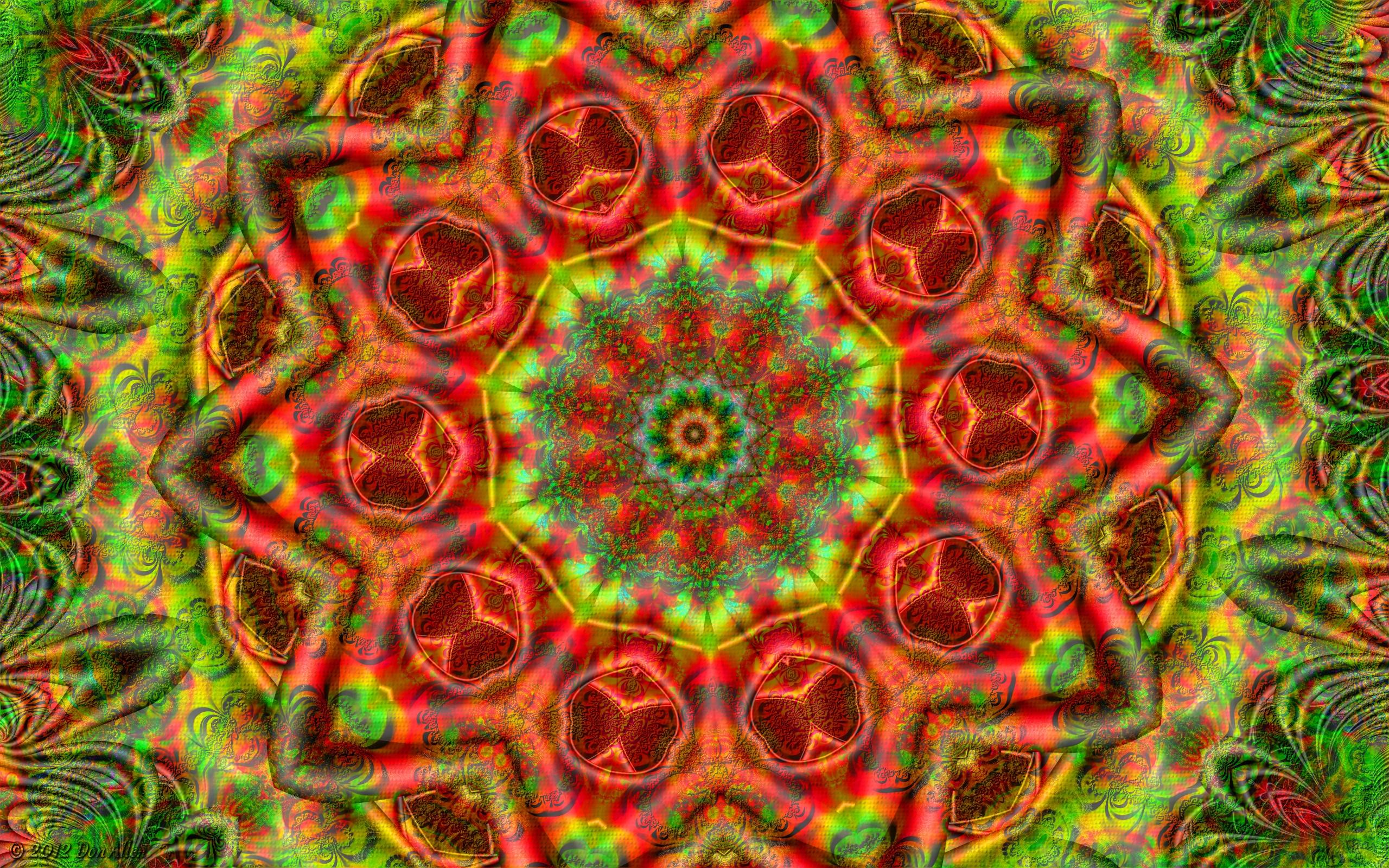 Mystic Mandala by Don64738 2560x1600