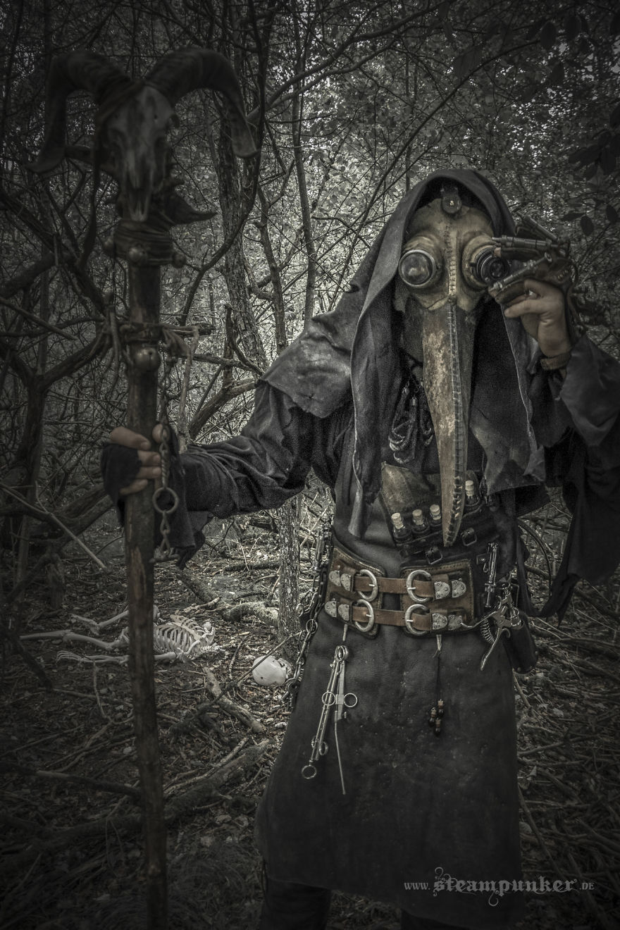 I Created A Plague Doctor Costume In Steampunk Style 880x1320