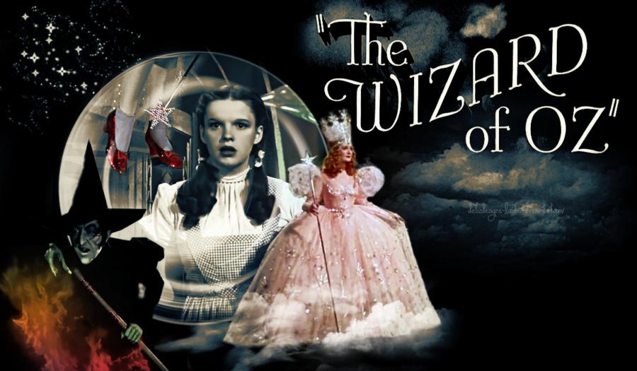 wizard of oz wallpaper border -#main