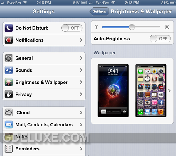 How To Change Wallpaper on iPhone iPad iPod Touch 600x533