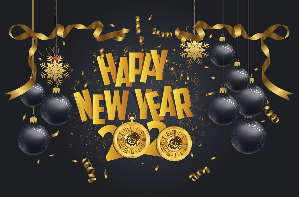 Happy New Year QuotesWishes Images 2020 1000x661