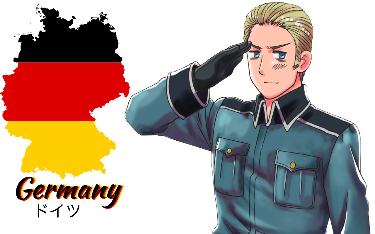 Hetalia Germany fan Wallpaper by Nightout6 1280x800