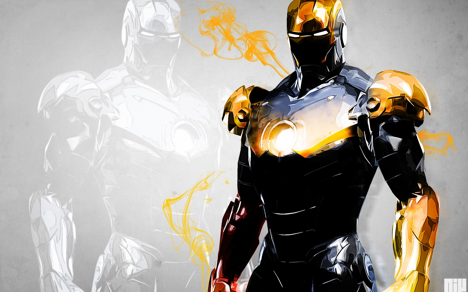 Iron man marvel comics superhero wallpaper 1920x1200 84804 1920x1200