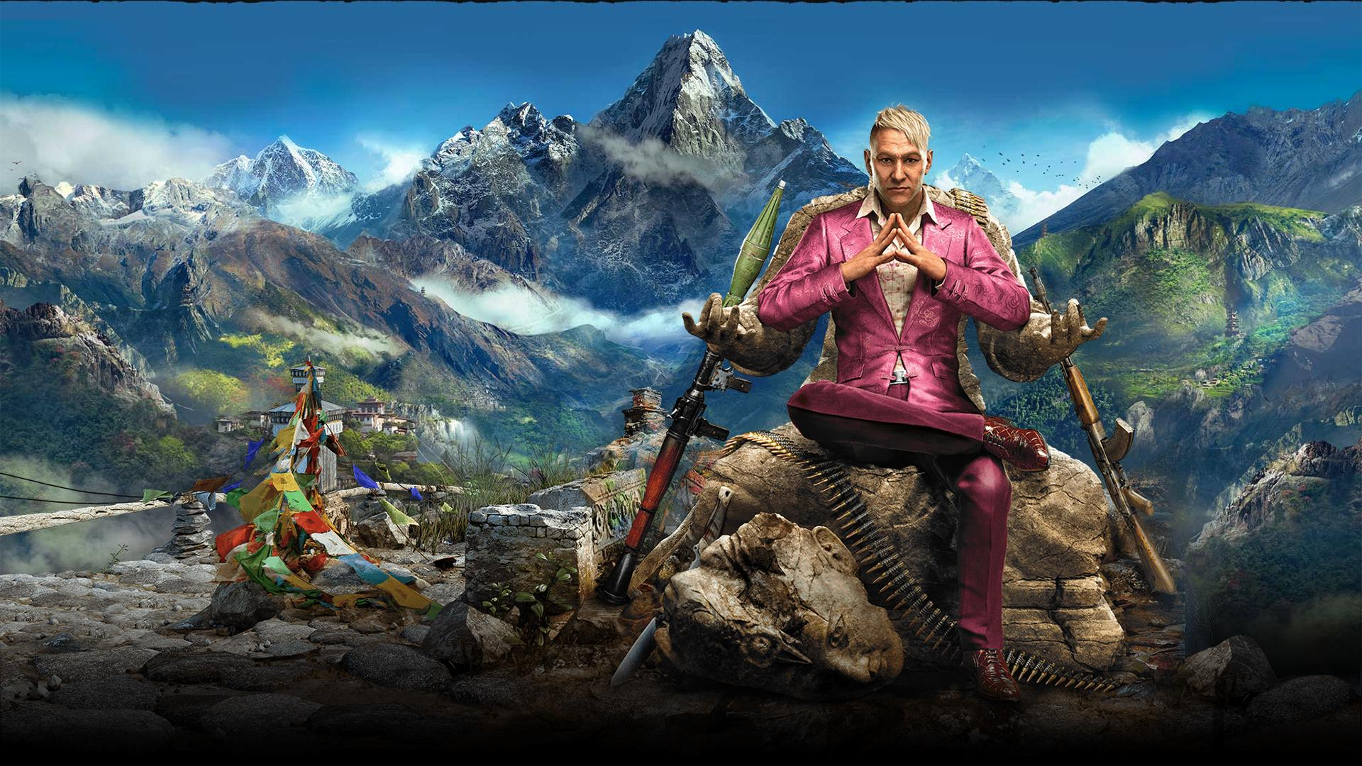 far cry 4 hd wallpaper wallpapersafari. Black Bedroom Furniture Sets. Home Design Ideas