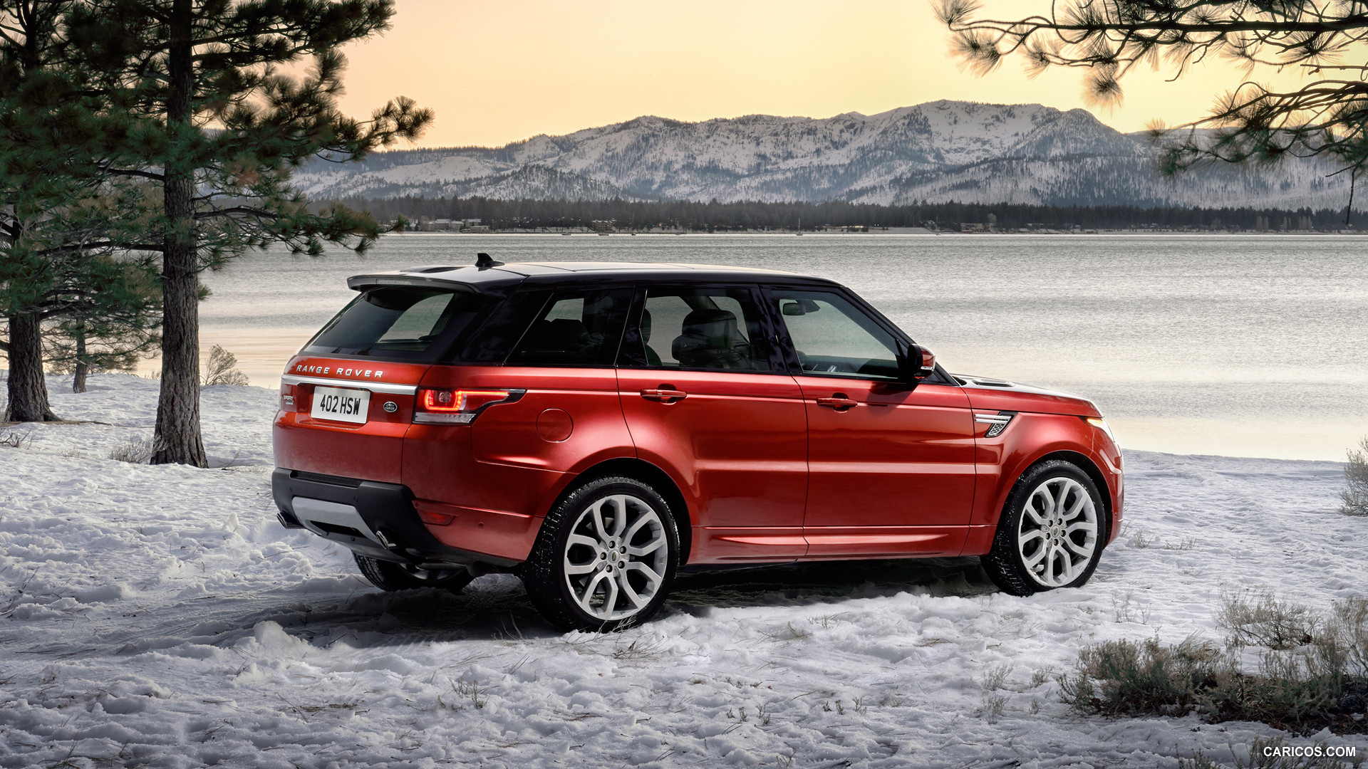 Red Range Rover Wallpaper Wallpapersafari