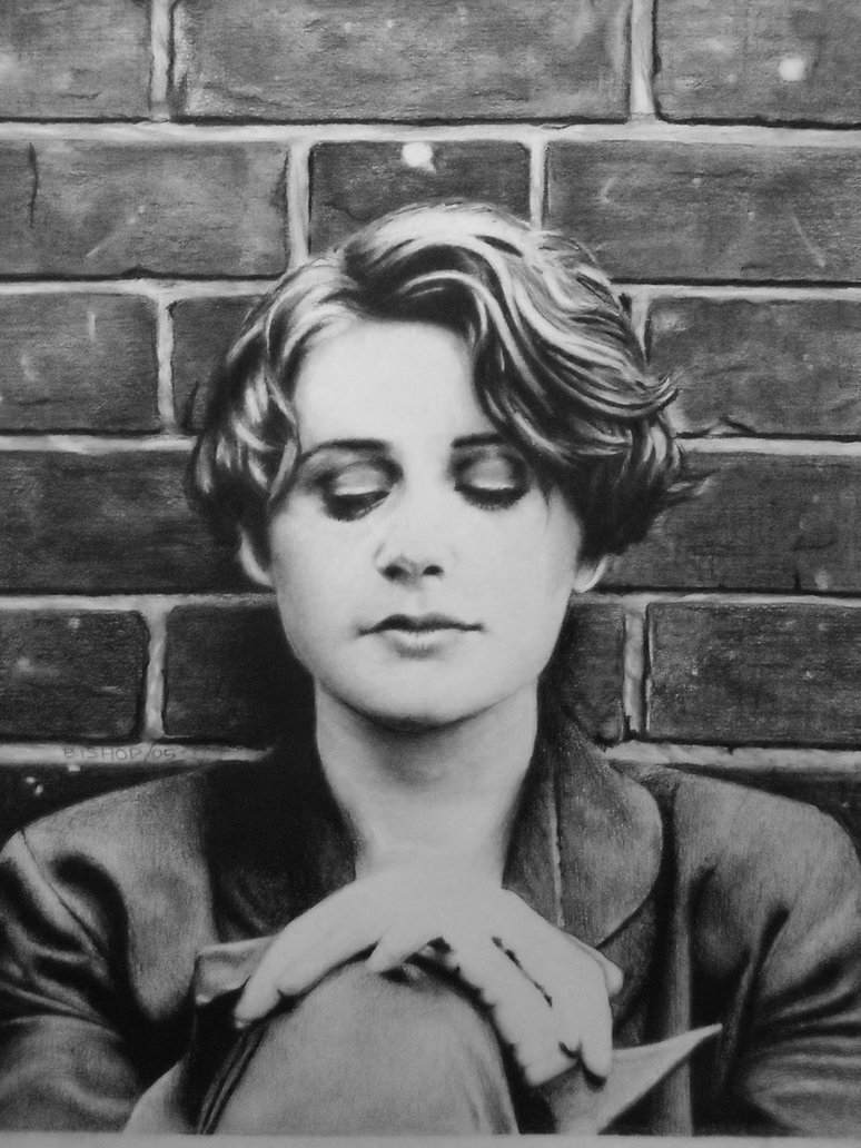 Elizabeth Fraser of Cocteau Twins Charcoal by 774x1032