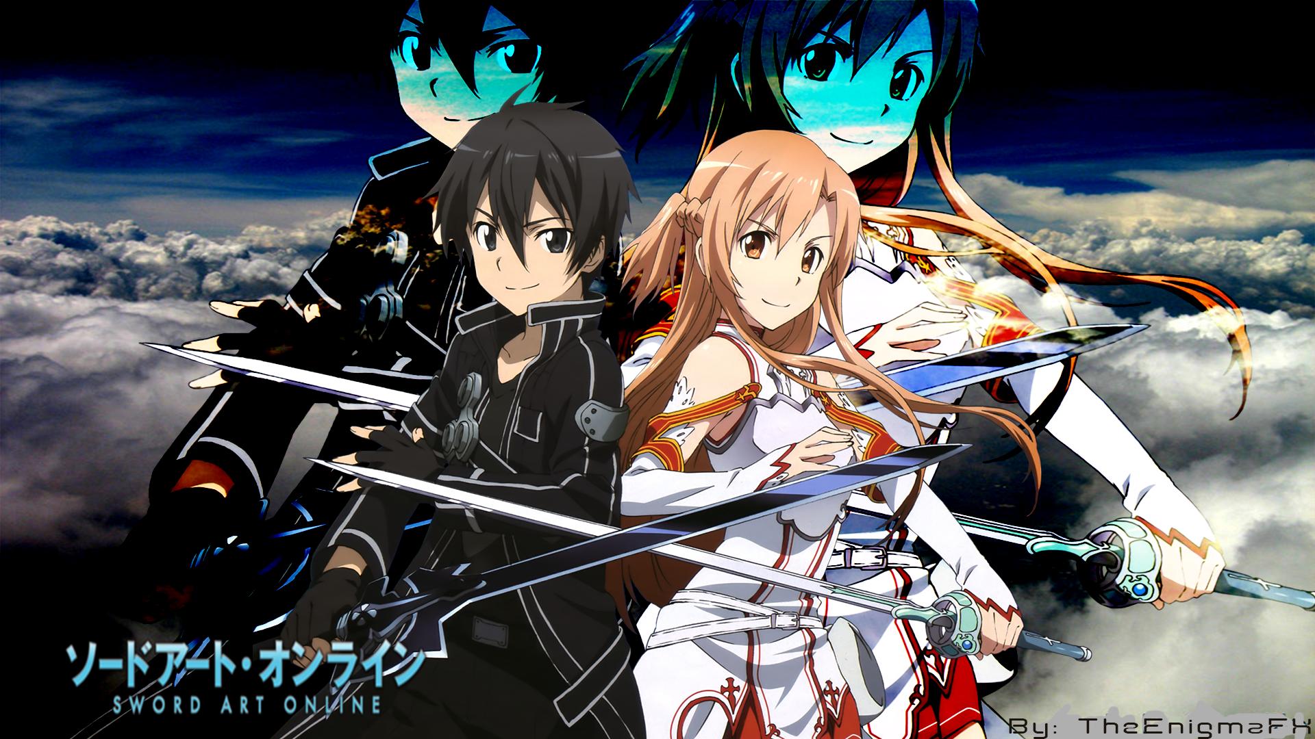 Sword Art Online Desktop Background By TheEnigmaFX by TheEnigmaFX on 1920x1080