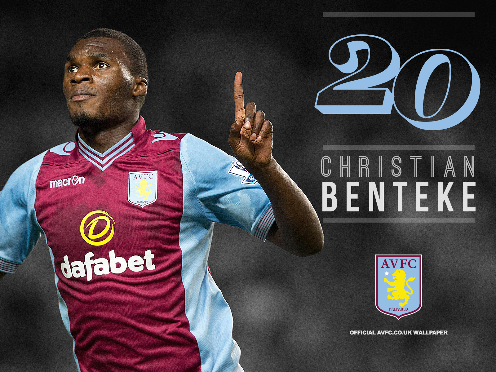 Christian Benteke Football Wallpaper 1600x1200