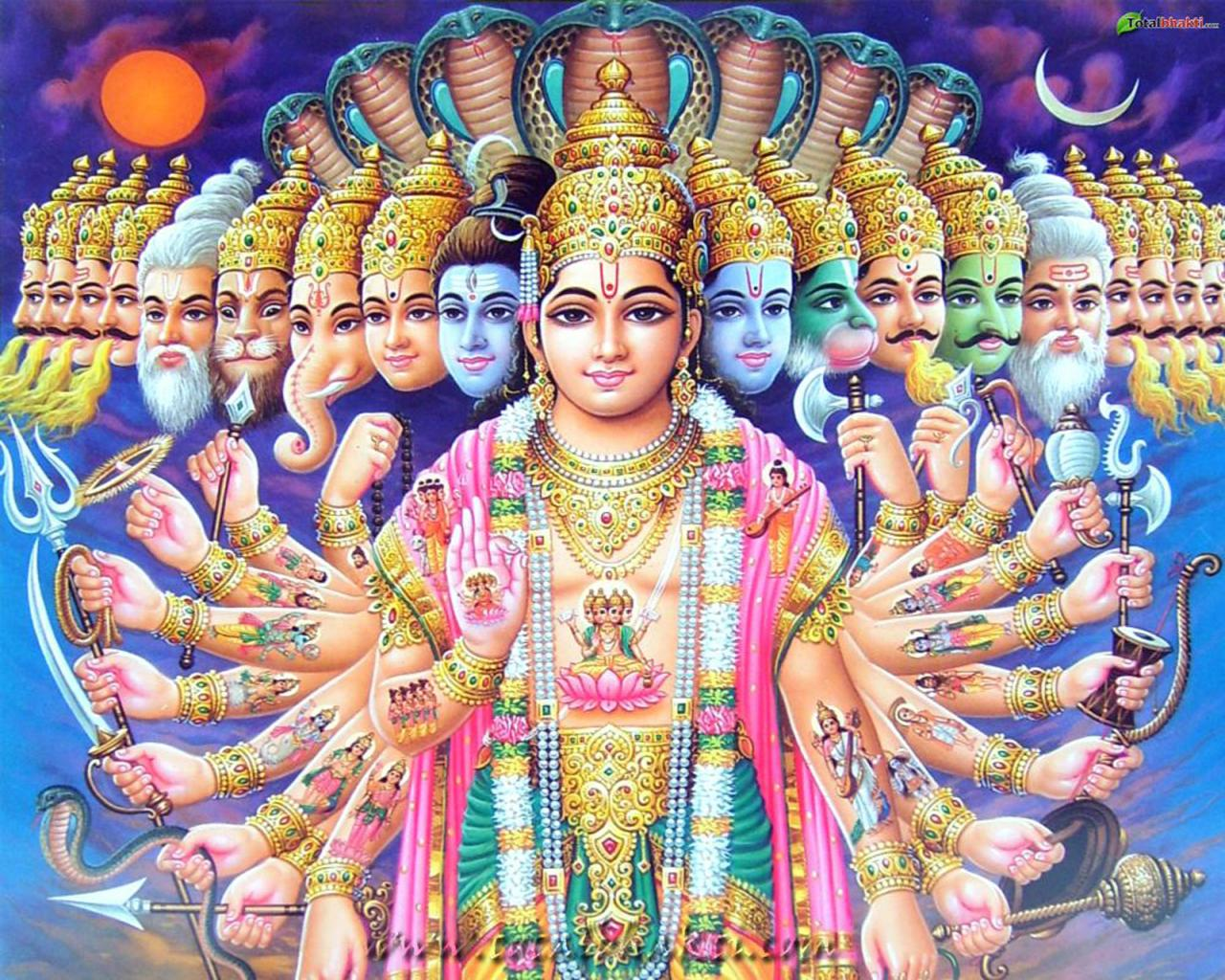 Lord Vishnu Wallpapers Narayan Hindu God Spiritual Backgrounds   On 1280x1024