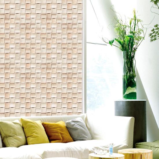 Peel and Stick Tile Apricot Self Adhesive Vinyl Wallpaper 550x550