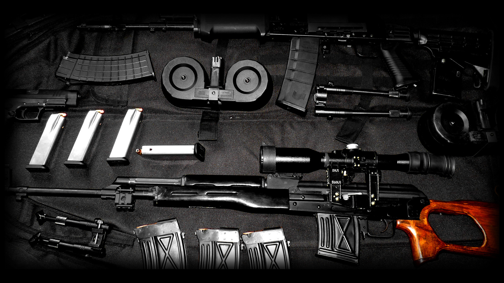 Assault Rifle Computer Wallpapers Desktop Backgrounds 1920x1080