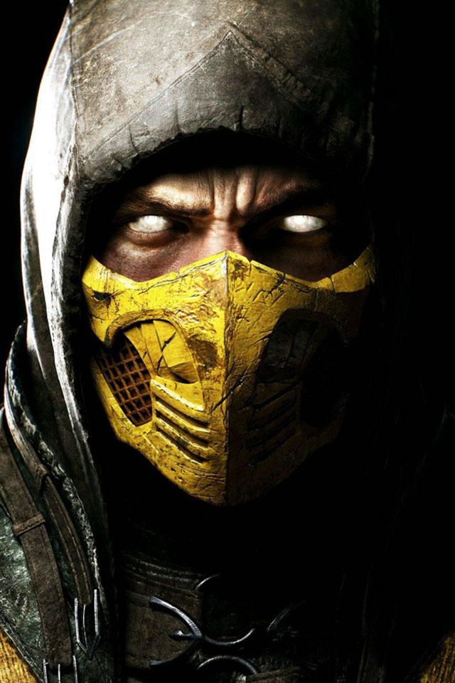 Mortal Kombat X Kollectors Edition iPhone Wallpaper wallpapers 640x960