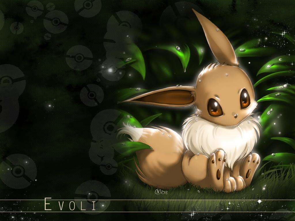 Pokemon Eevee Wallpaper 1024x768 Pokemon Eevee 1024x768