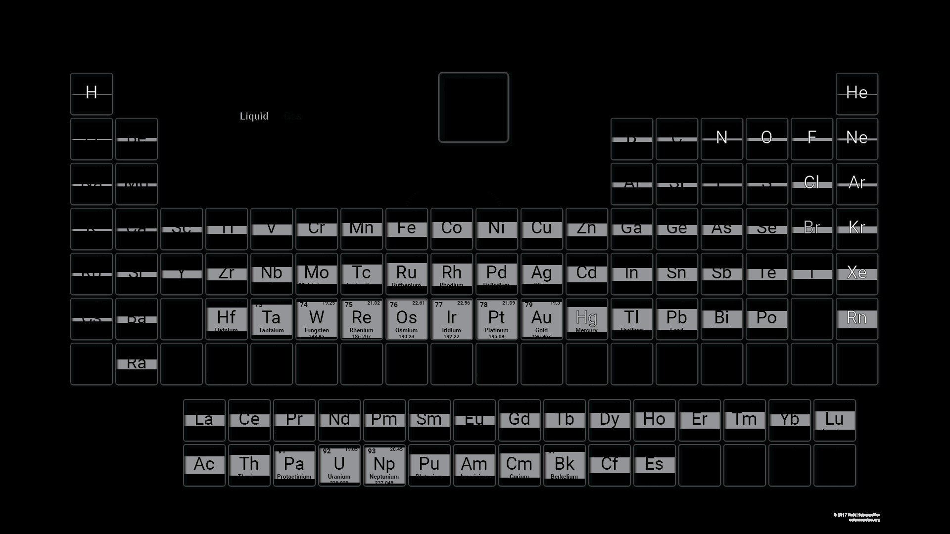 78 Periodic Table Wallpapers on WallpaperPlay 1920x1080