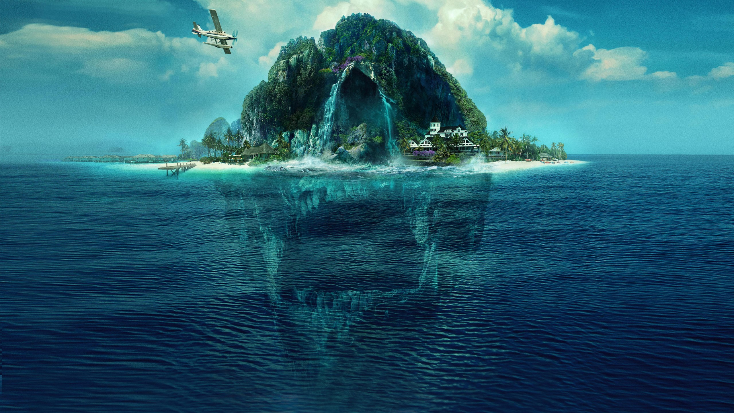 Fantasy Island 2020 4K 5K HD desktop wallpaper Widescreen High 2560x1440