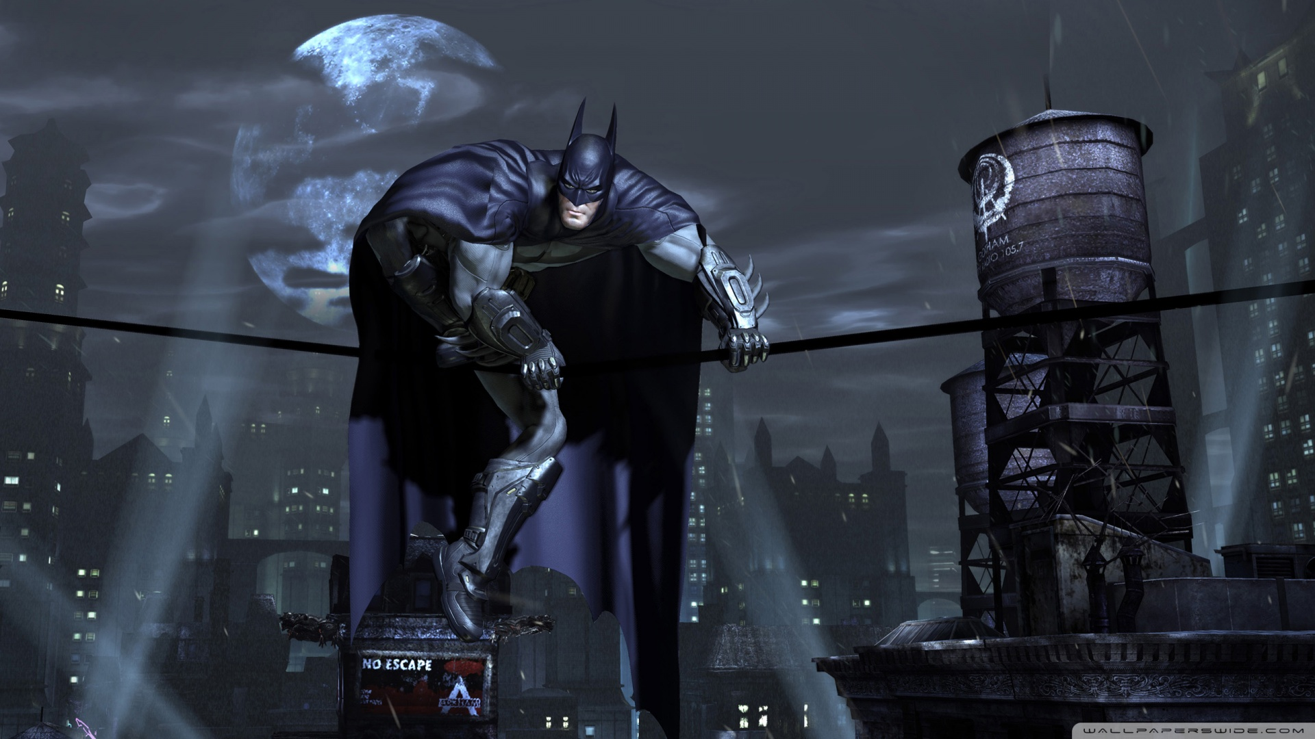 Batman Arkham City 2 Wallpaper 1920x1080 Batman Arkham City 2 1920x1080