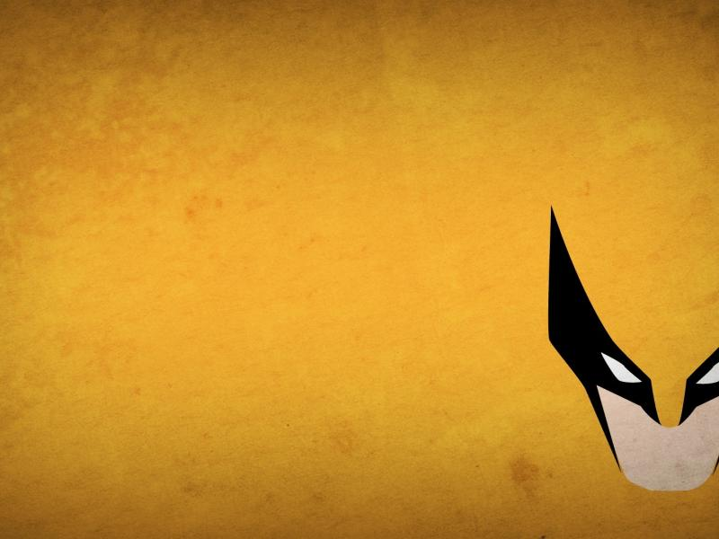 Marvel comics wolverine xmen blo0p minimalistic wallpaper 104919 800x600