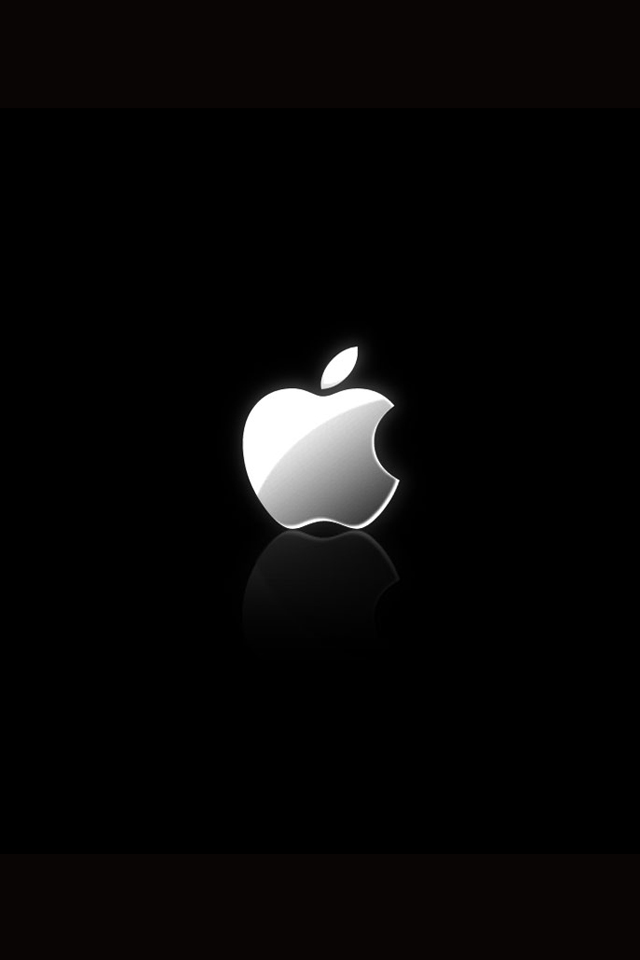 iPhone Wallpapers iPhone 4S Wallpaper with Apple Logo 640x960