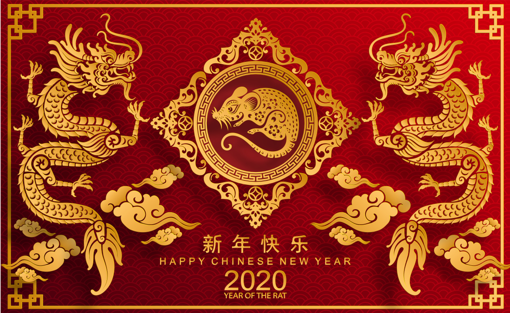 Happy Chinese New Year 2020 Images HD Wallpapers   POETRY CLUB 1000x614