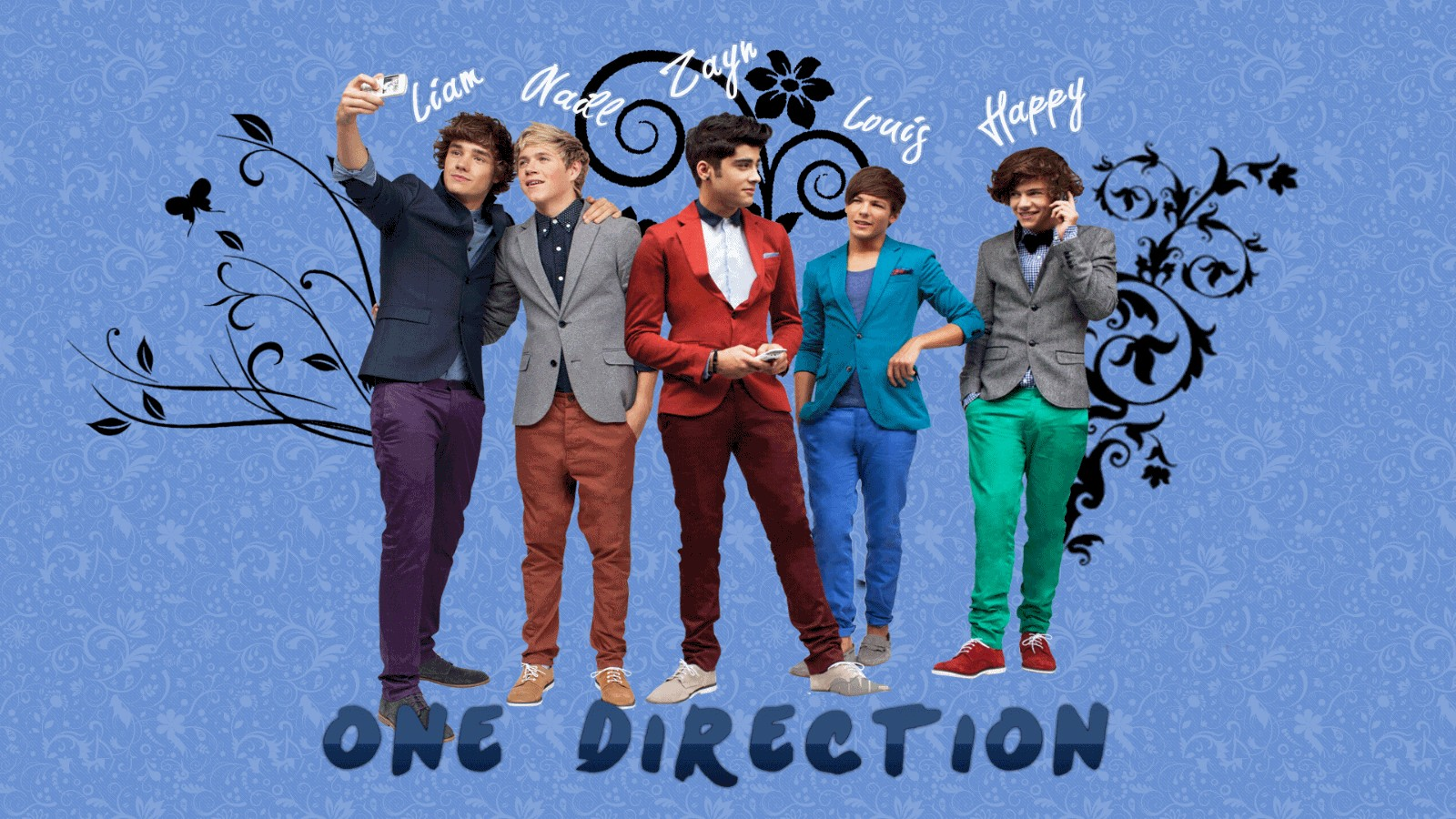 One Direction HD Wallpaper HD Wallpaper 1600x900