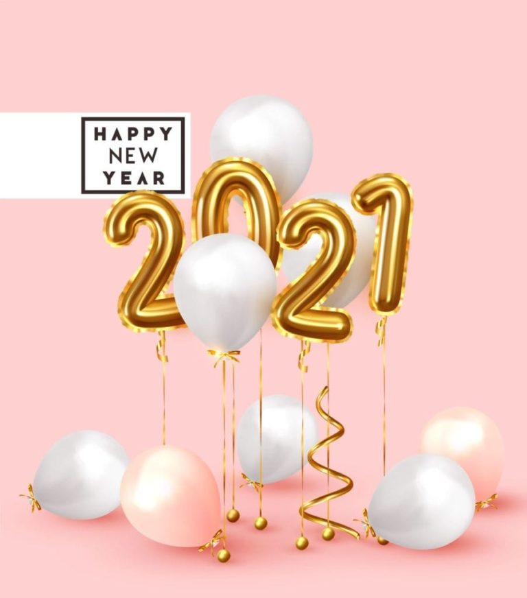 Beautiful Happy New Year 2021 Images Happy New Year 2021 Wallpaper 768x872