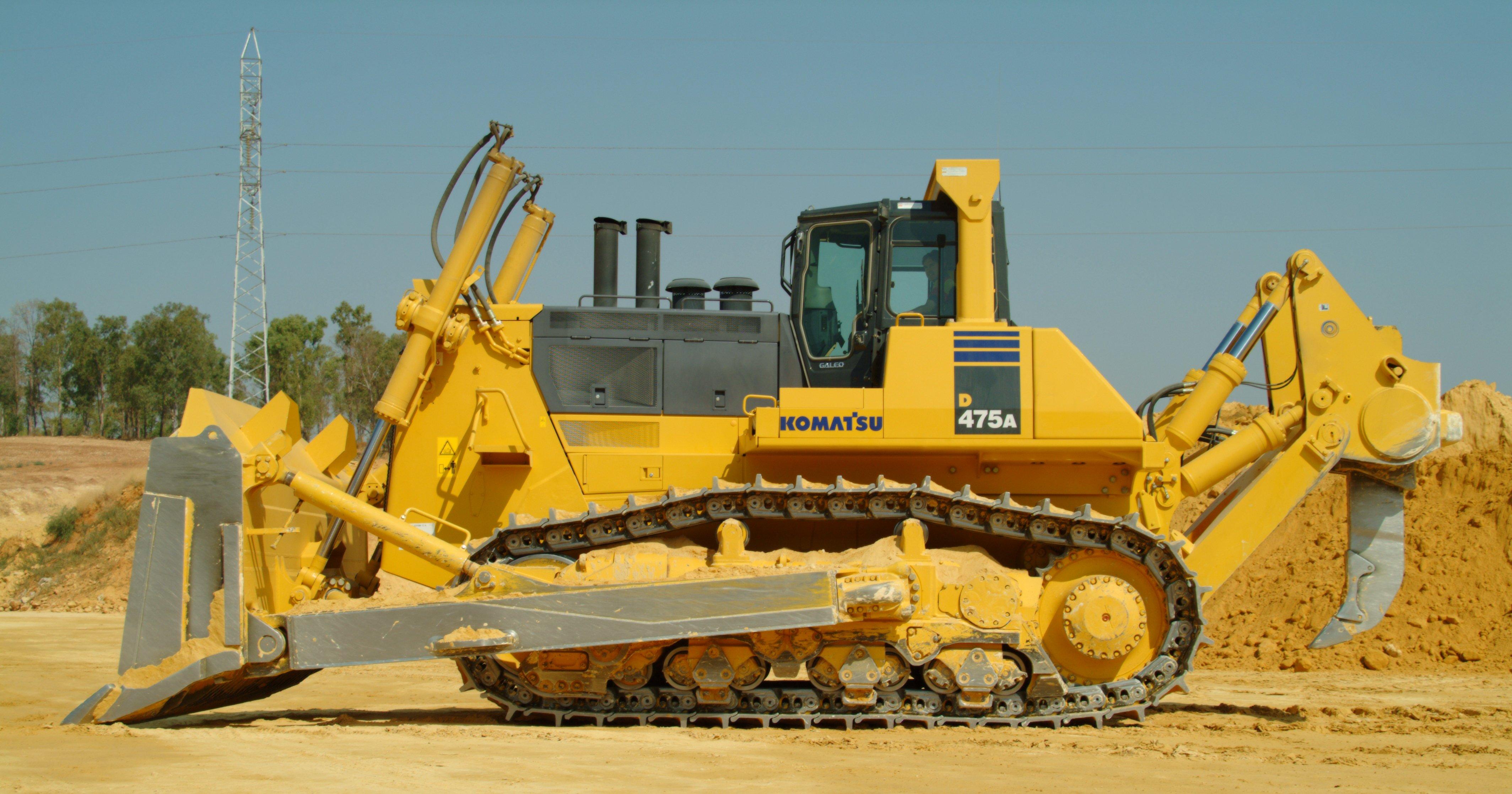 Million Base Bulldozer 4256x2236