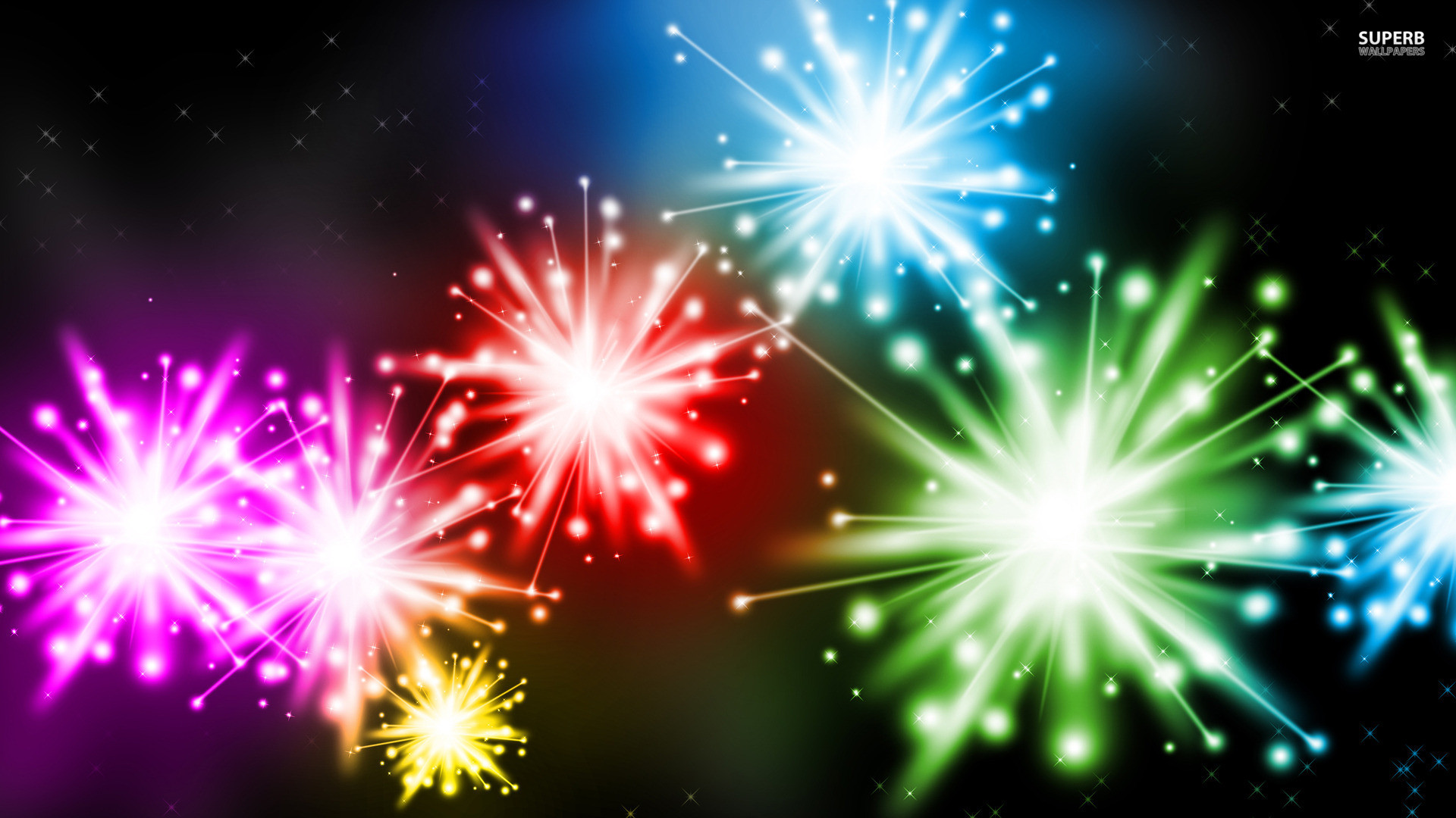 Fireworks Background - WallpaperSafari