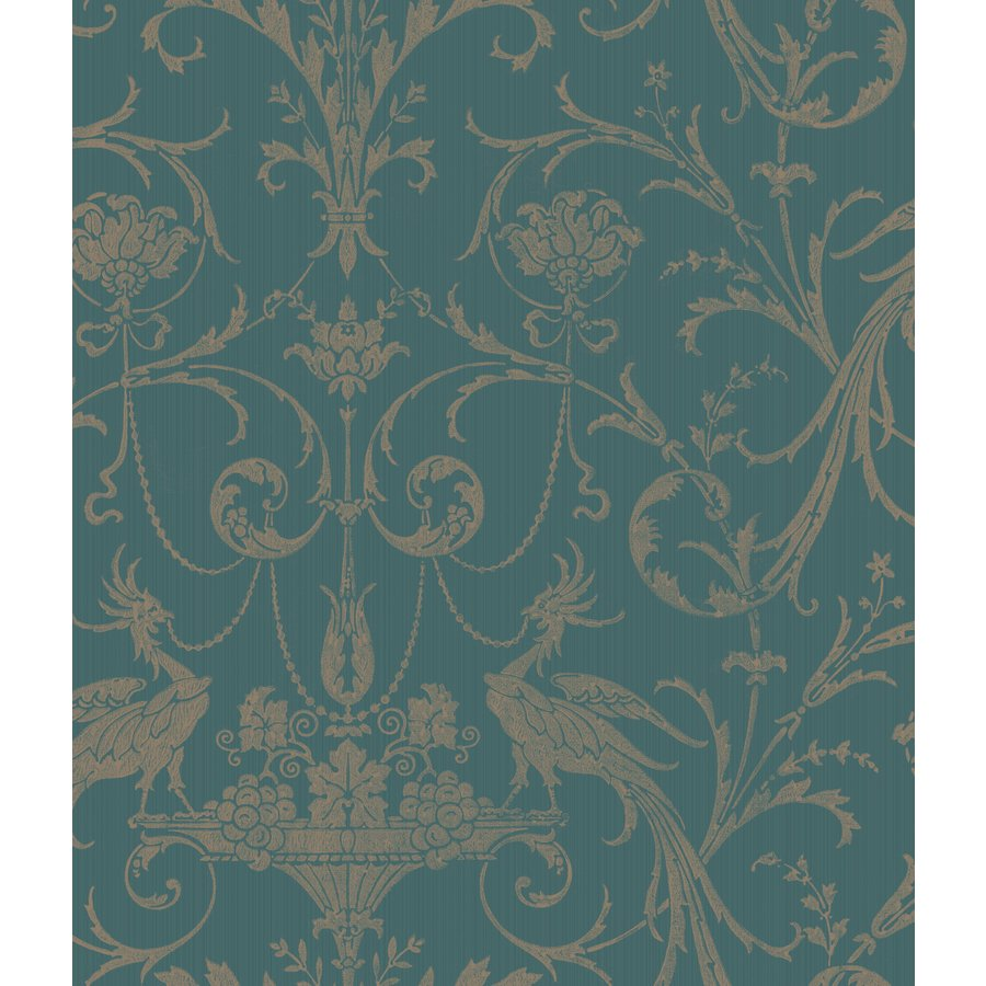 Damask Strippable Non Woven Prepasted Wallpaper Lowes Canada 900x900