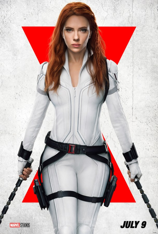 4K screencaps Fanart from Black Widow 2021 and a new poster 608x900