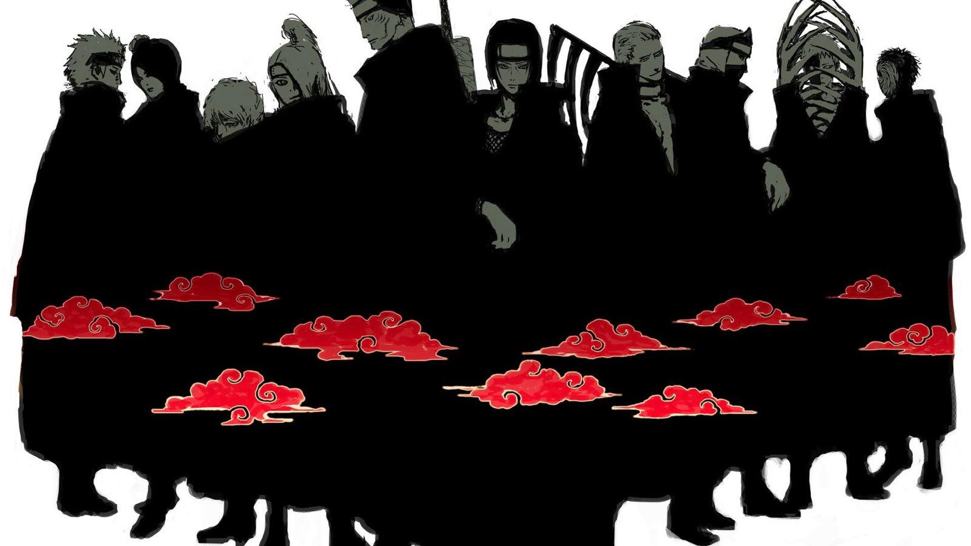 Akatsuki Group Member 0d Wallpaper HD 1920x1080