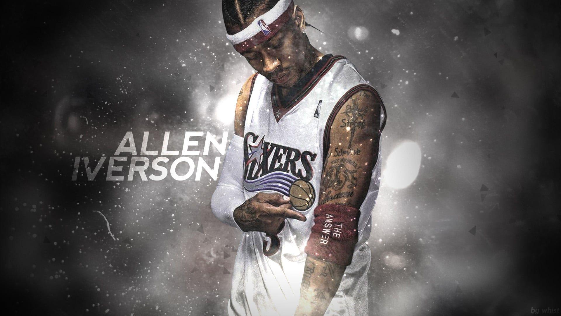 Allen Iverson Wallpaper Full HD Pictures Basketball Allen 1920x1080