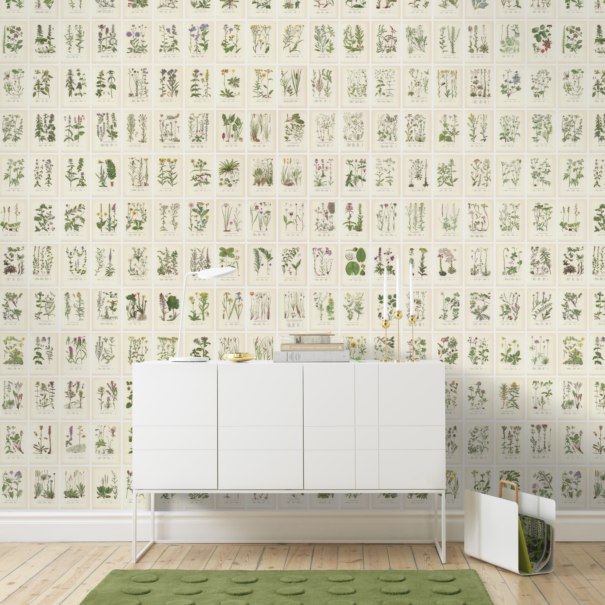 Botanica by Sandberg Wallpaper Direct 2000x2000