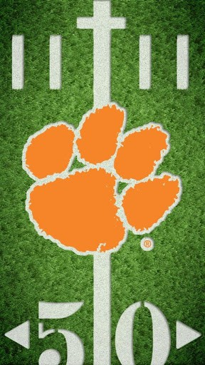 licensed clemson university logo as a live wallpaper on your phone you 288x512