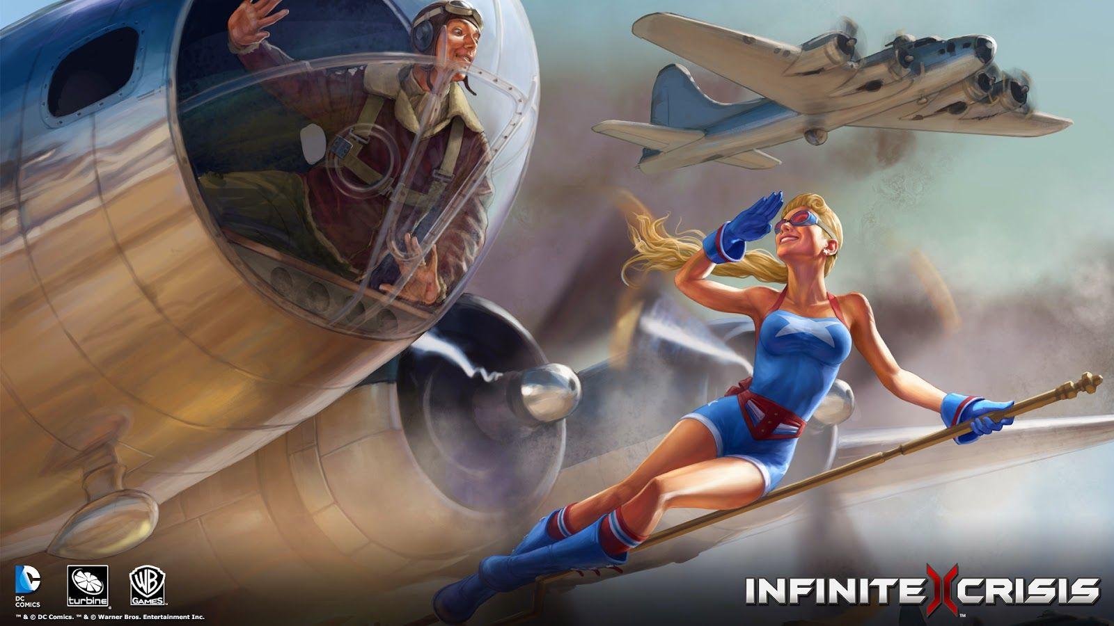 Super Punch Bombshell Stargirl wallpaper Marvel Cmics y Dibujos 1600x900