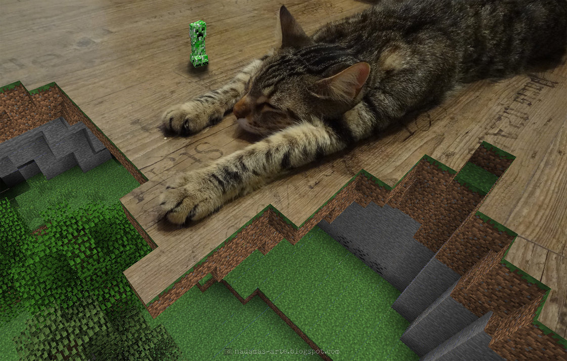 46 Minecraft Awesome Wallpapers On Wallpapersafari