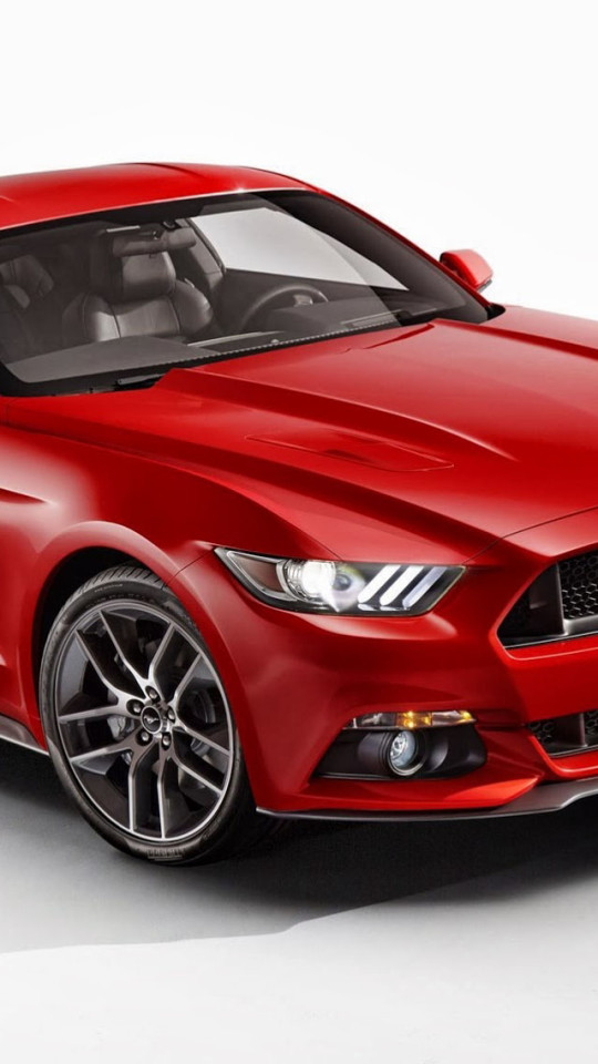 2015 Ford Mustang Red Wallpaper   iPhone Wallpapers 540x960