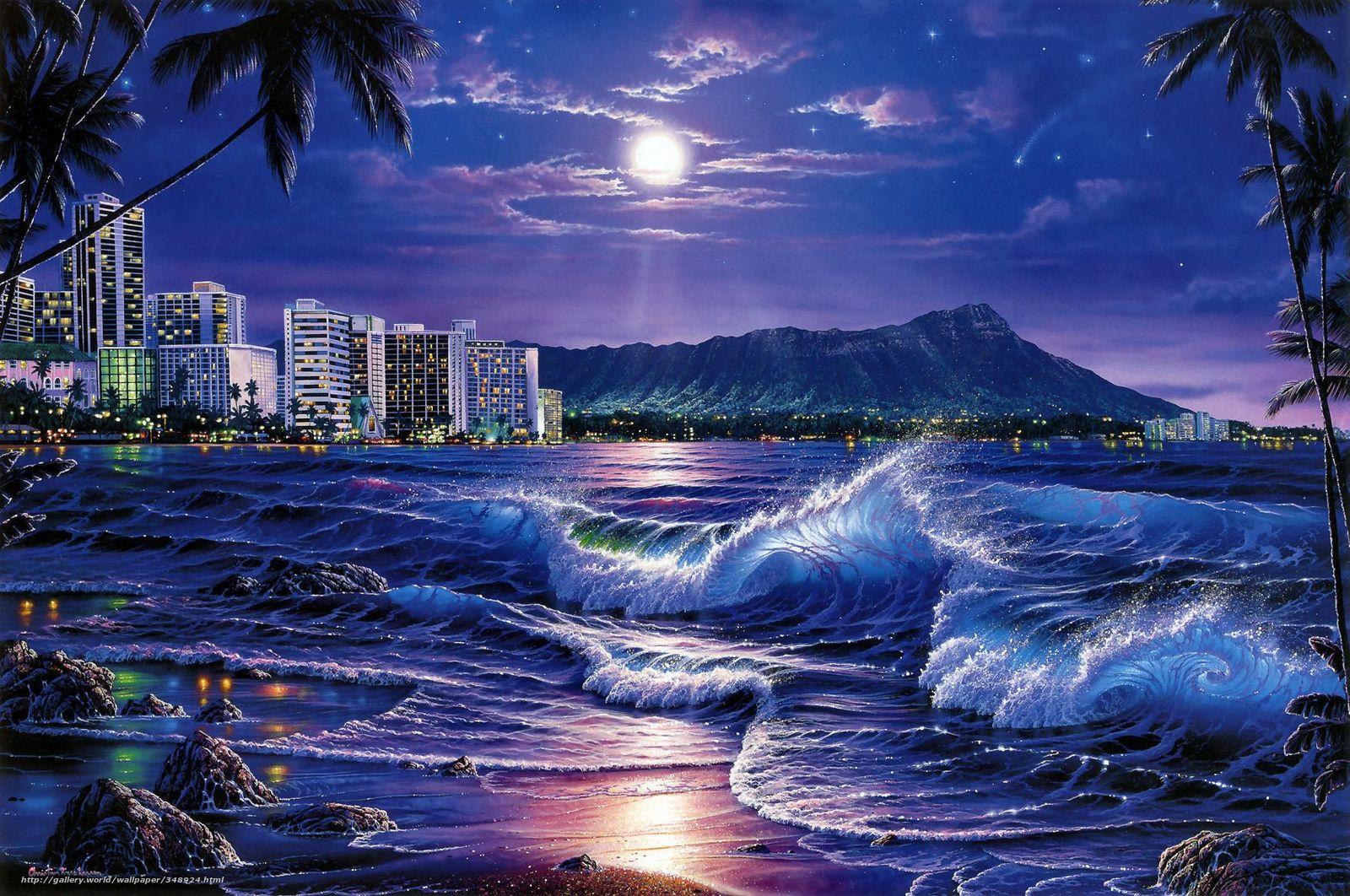 Free Download Wallpaper Christian Riese Lassen Waikiki Ocean City